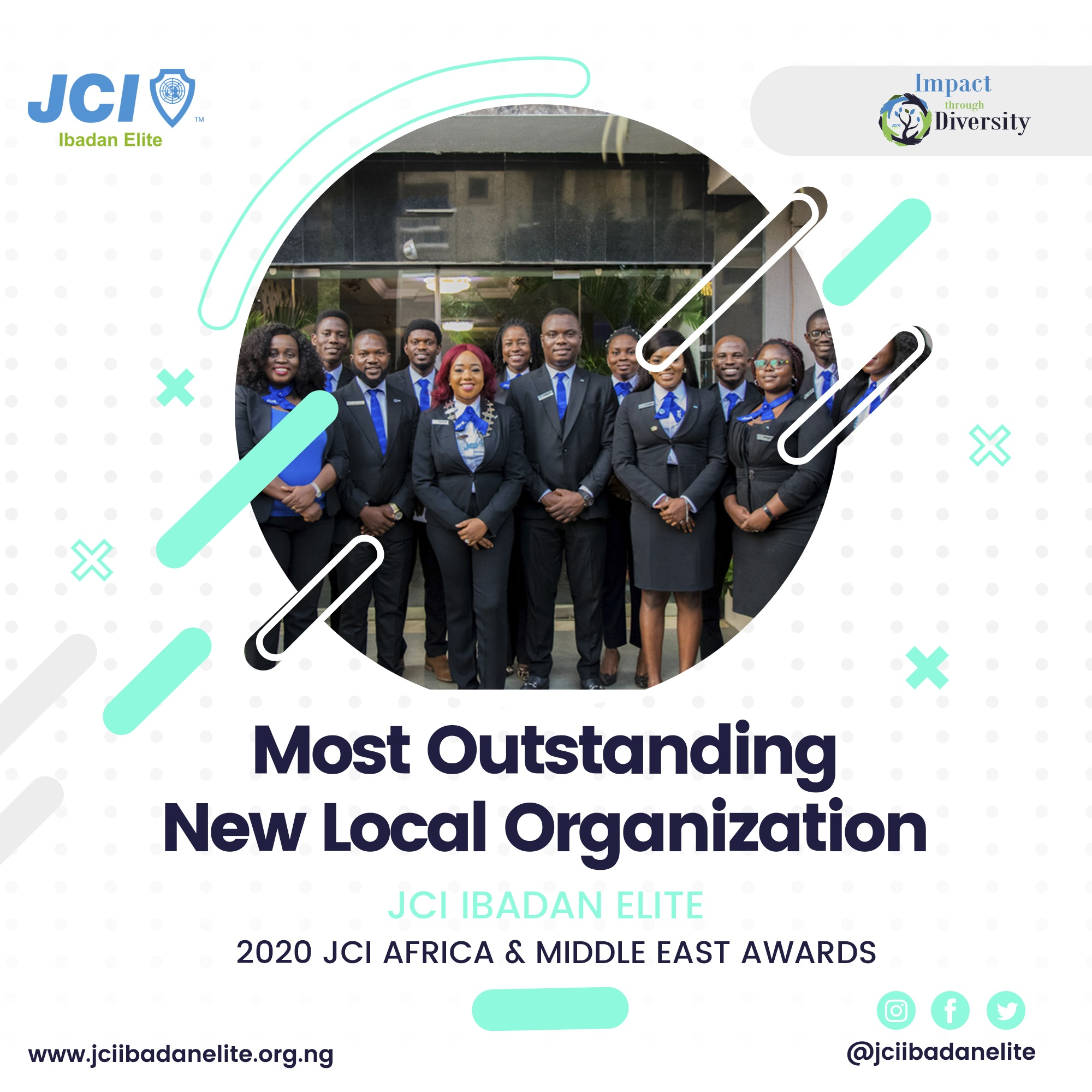 JCI Ibadan Elite Stuns Africa, Bags 2 Awards at Africa and the Middle East Awards