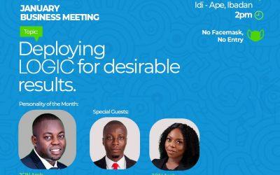 JCI IBADAN ELITE SET TO HOST JCI NIGERIA PRESIDENT AT JANUARY BUSINESS MEETING