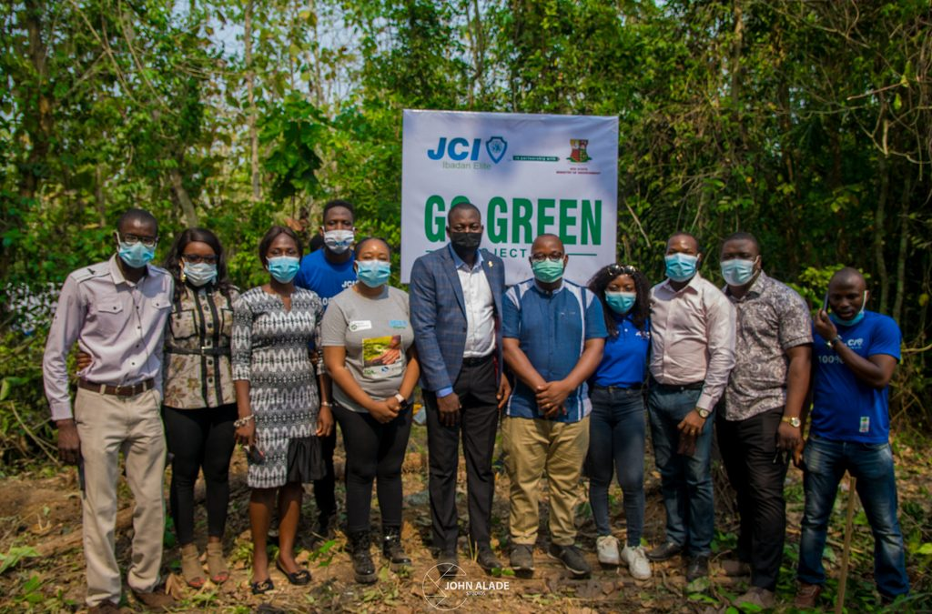 JCI IBADAN ELITE FLAGS OFF GO-GREEN PROJECT IN IBADAN